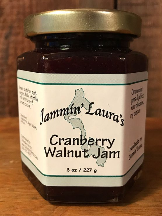 Cranberry Walnut Jam