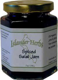 Spiced Salal Jam